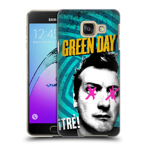 Plastové pouzdro na mobil Samsung Galaxy A3 (2016) HEAD CASE Green Day - Tré