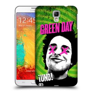 Plastové pouzdro na mobil Samsung Galaxy Note 3 Neo HEAD CASE Green Day - Uno