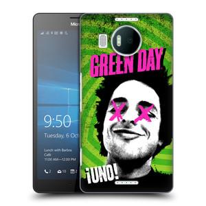Plastové pouzdro na mobil Microsoft Lumia 950 XL HEAD CASE Green Day - Uno