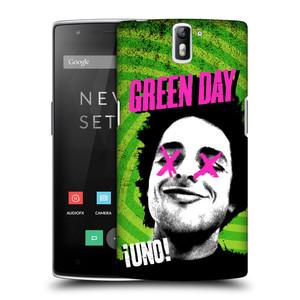 Plastové pouzdro na mobil OnePlus One HEAD CASE Green Day - Uno