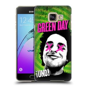 Plastové pouzdro na mobil Samsung Galaxy A3 (2016) HEAD CASE Green Day - Uno