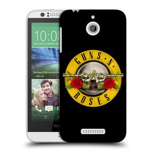 Plastové pouzdro na mobil HTC Desire 510 HEAD CASE Guns N' Roses - Logo