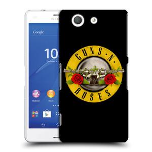 Plastové pouzdro na mobil Sony Xperia Z3 Compact D5803 HEAD CASE Guns N' Roses - Logo