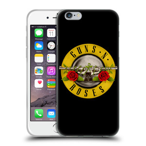Silikonové pouzdro na mobil Apple iPhone 6 HEAD CASE Guns N' Roses - Logo