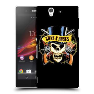 Plastové pouzdro na mobil Sony Xperia Z C6603 HEAD CASE Guns N' Roses - Lebka