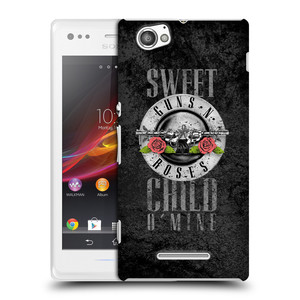 Plastové pouzdro na mobil Sony Xperia M C1905 HEAD CASE Guns N' Roses - Sweet Child