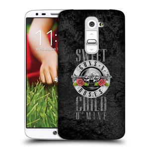 Plastové pouzdro na mobil LG G2 HEAD CASE Guns N' Roses - Sweet Child