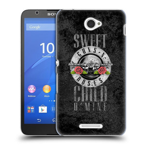 Plastové pouzdro na mobil Sony Xperia E4 E2105 HEAD CASE Guns N' Roses - Sweet Child