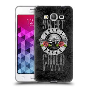 Silikonové pouzdro na mobil Samsung Galaxy Grand Prime VE HEAD CASE Guns N' Roses - Sweet Child