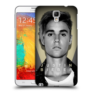 Plastové pouzdro na mobil Samsung Galaxy Note 3 Neo HEAD CASE Justin Bieber Official - Head Shot