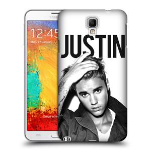 Plastové pouzdro na mobil Samsung Galaxy Note 3 Neo HEAD CASE Justin Bieber Official - Póza