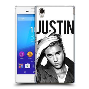Plastové pouzdro na mobil Sony Xperia M4 Aqua E2303 HEAD CASE Justin Bieber Official - Póza