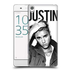 Plastové pouzdro na mobil Sony Xperia XA HEAD CASE Justin Bieber Official - Póza