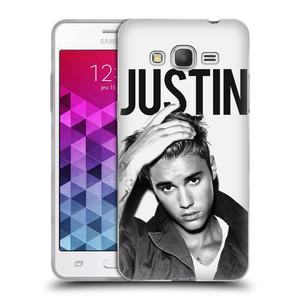 Silikonové pouzdro na mobil Samsung Galaxy Grand Prime HEAD CASE Justin Bieber Official - Póza