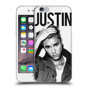 Silikonové pouzdro na mobil Apple iPhone 6 HEAD CASE Justin Bieber Official - Póza