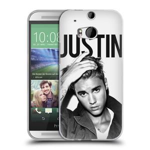 Silikonové pouzdro na mobil HTC ONE M8 HEAD CASE Justin Bieber Official - Póza