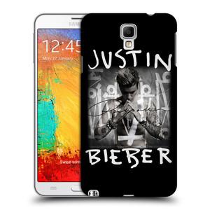 Plastové pouzdro na mobil Samsung Galaxy Note 3 Neo HEAD CASE Justin Bieber Official - Purpose
