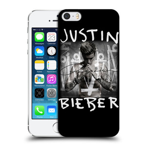 Plastové pouzdro na mobil Apple iPhone SE, 5 a 5S HEAD CASE Justin Bieber Official - Purpose