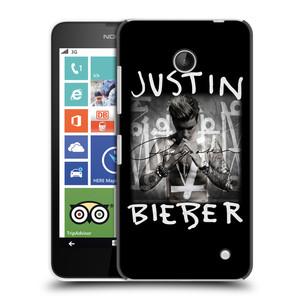 Plastové pouzdro na mobil Nokia Lumia 630 HEAD CASE Justin Bieber Official - Purpose