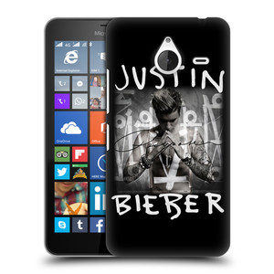 Plastové pouzdro na mobil Microsoft Lumia 640 XL HEAD CASE Justin Bieber Official - Purpose