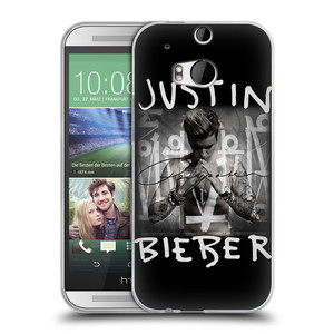 Silikonové pouzdro na mobil HTC ONE M8 HEAD CASE Justin Bieber Official - Purpose
