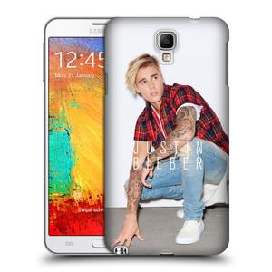 Plastové pouzdro na mobil Samsung Galaxy Note 3 Neo HEAD CASE Justin Bieber Official - V pokleku