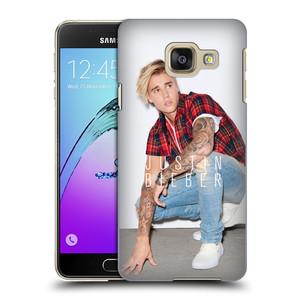 Plastové pouzdro na mobil Samsung Galaxy A3 (2016) HEAD CASE Justin Bieber Official - V pokleku