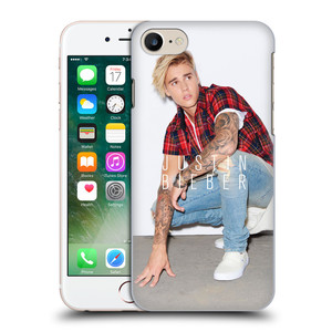 Plastové pouzdro na mobil Apple iPhone 7 HEAD CASE Justin Bieber Official - V pokleku
