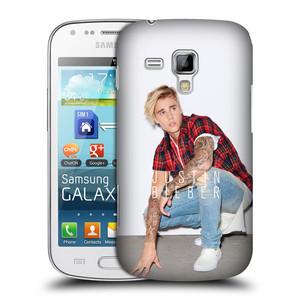 Plastové pouzdro na mobil Samsung Galaxy Trend HEAD CASE Justin Bieber Official - V pokleku