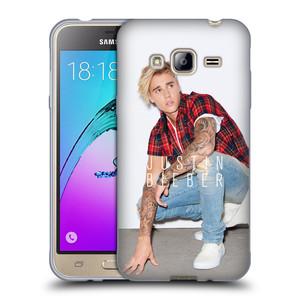 Silikonové pouzdro na mobil Samsung Galaxy J3 (2016) HEAD CASE Justin Bieber Official - V pokleku