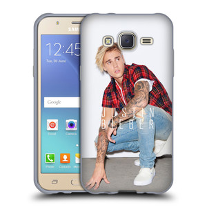 Silikonové pouzdro na mobil Samsung Galaxy J5 HEAD CASE Justin Bieber Official - V pokleku