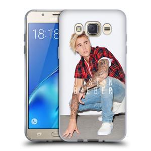 Silikonové pouzdro na mobil Samsung Galaxy J7 (2016) HEAD CASE Justin Bieber Official - V pokleku