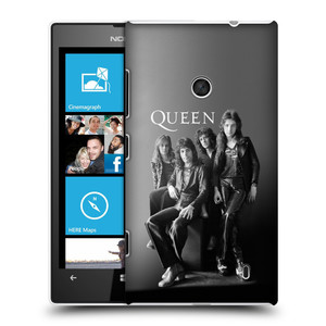 Plastové pouzdro na mobil Nokia Lumia 520 HEAD CASE Queen - Skupina