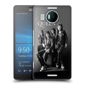 Plastové pouzdro na mobil Microsoft Lumia 950 XL HEAD CASE Queen - Skupina
