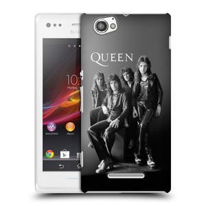 Plastové pouzdro na mobil Sony Xperia M C1905 HEAD CASE Queen - Skupina