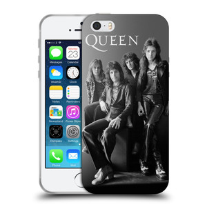 Silikonové pouzdro na mobil Apple iPhone SE, 5 a 5S HEAD CASE Queen - Skupina