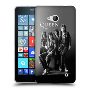 Silikonové pouzdro na mobil Microsoft Lumia 640 HEAD CASE Queen - Skupina