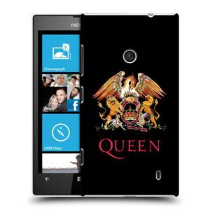Plastové pouzdro na mobil Nokia Lumia 520 HEAD CASE Queen - Logo