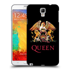 Plastové pouzdro na mobil Samsung Galaxy Note 3 Neo HEAD CASE Queen - Logo