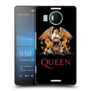 Plastové pouzdro na mobil Microsoft Lumia 950 XL HEAD CASE Queen - Logo