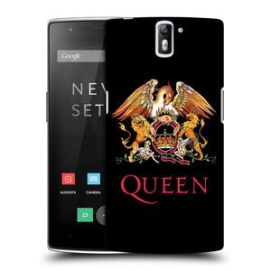 Plastové pouzdro na mobil OnePlus One HEAD CASE Queen - Logo