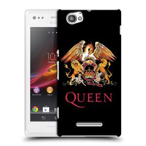 Plastové pouzdro na mobil Sony Xperia M C1905 HEAD CASE Queen - Logo