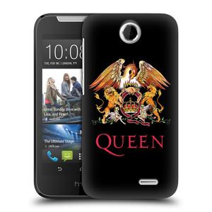 Plastové pouzdro na mobil HTC Desire 310 HEAD CASE Queen - Logo