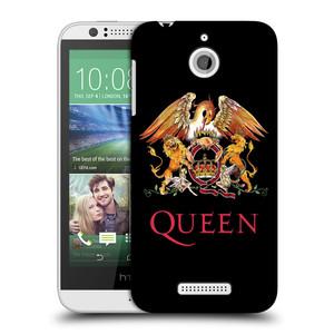 Plastové pouzdro na mobil HTC Desire 510 HEAD CASE Queen - Logo