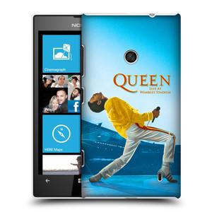 Plastové pouzdro na mobil Nokia Lumia 520 HEAD CASE Queen - Freddie Mercury