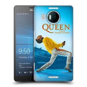 Plastové pouzdro na mobil Microsoft Lumia 950 XL HEAD CASE Queen - Freddie Mercury