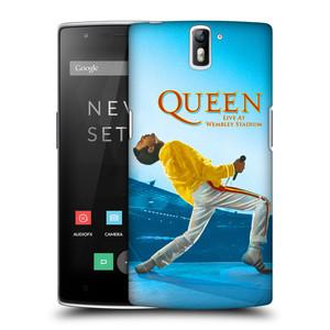 Plastové pouzdro na mobil OnePlus One HEAD CASE Queen - Freddie Mercury