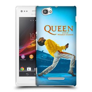 Plastové pouzdro na mobil Sony Xperia M C1905 HEAD CASE Queen - Freddie Mercury