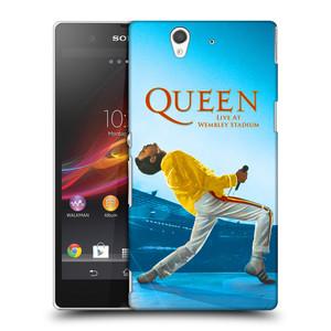 Plastové pouzdro na mobil Sony Xperia Z C6603 HEAD CASE Queen - Freddie Mercury