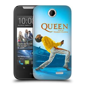 Plastové pouzdro na mobil HTC Desire 310 HEAD CASE Queen - Freddie Mercury